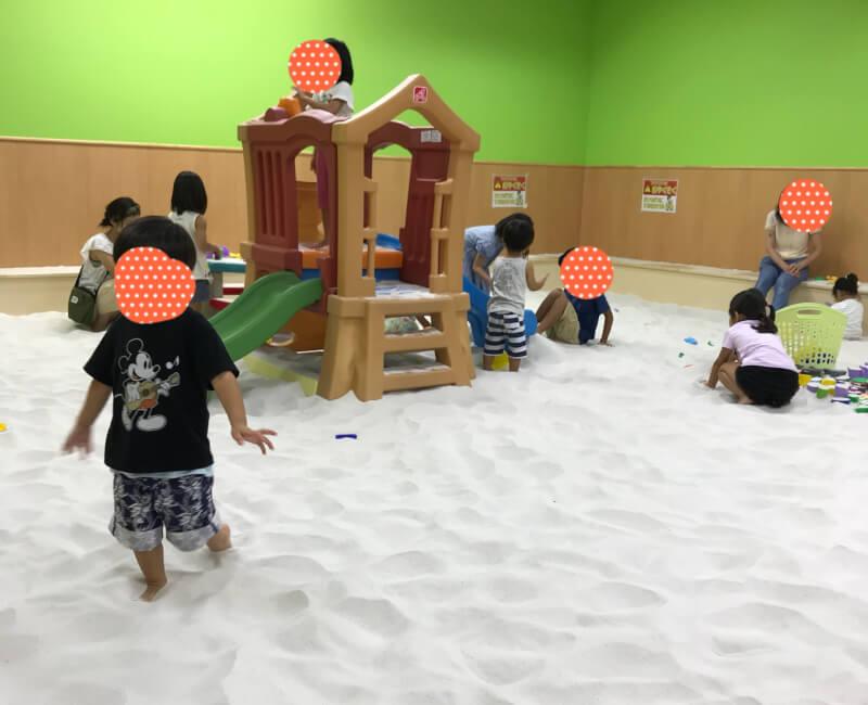 ファンタジーキッズリゾート砂場