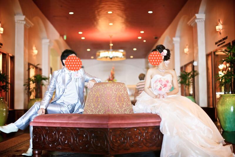 ハワイ挙式 ホテル撮影
